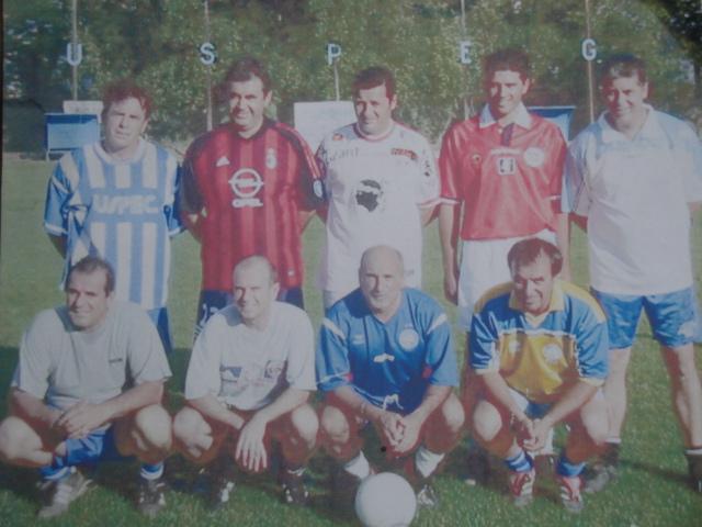 Equipe de foot passé de l'uspeg